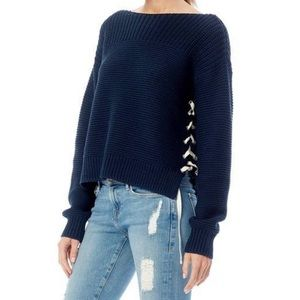 360 Sweater | Navy Emilia Oversized Sweater